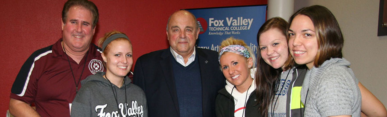 See inspirational speakers like Barry Alvarez as part of the Speaker Series