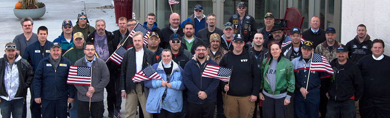 The Student Veterans Club is just one of the 45+ student clubs on campus