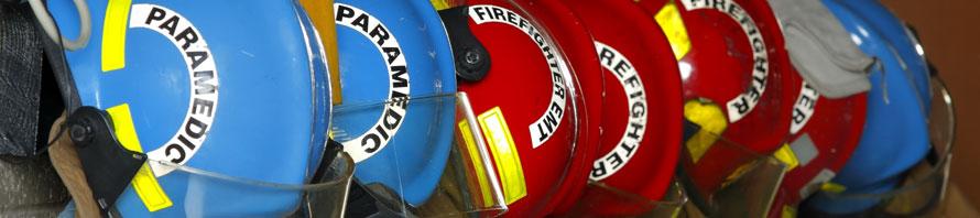 EMS, Fire Banner