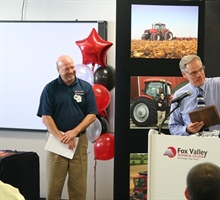 Ag Dedication & Award to Mike Austin Wednesday, October 2, 2013
