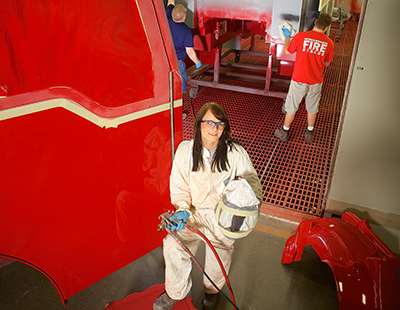 From Hot Rods to a Hot Career: Auto Refinishing