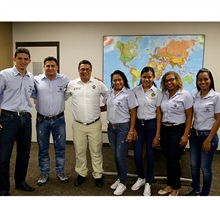 Colombian Students Visit for... Thursday, September 22, 2016
