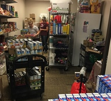 Thrivent Swells Food Pantry Shelves Monday, November 27, 2017