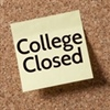 College Closed for Memorial Day