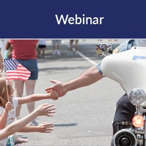 Free Police Relations Webinars from... Friday, August 7, 2020