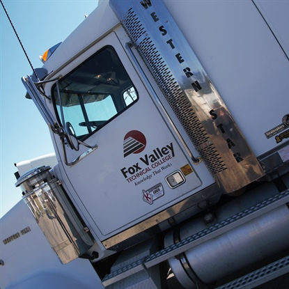 Truck Drivers Adjust to Weather