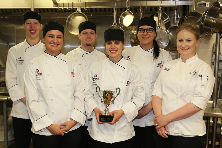 Award-winning FVTC Culinary Arts team