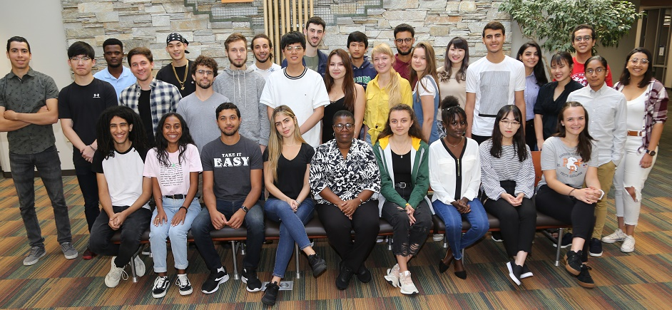 Thirty-six students from 19 countries join the FVTC family for the 2019-20 academic year.