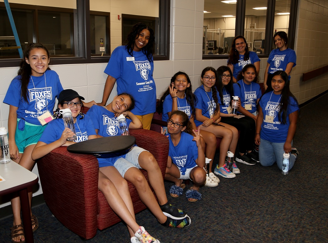 The 8th annual LETTIE (Latinas Empowered Through Transformative Ideas) camp brings career-based experiences to Hispanic girls entering grades 6-10.