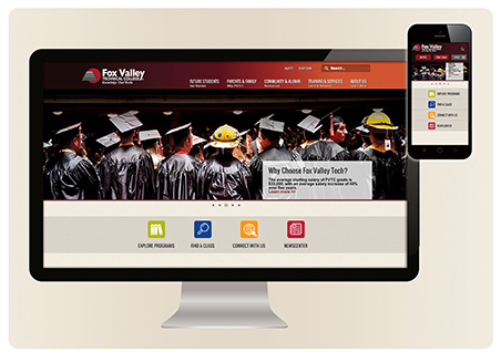 New Website Screens